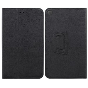 Stand Leather Case for Huawei Honor Tablet T1 7.0 (T1-701u) - Black