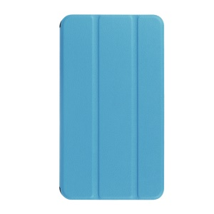 Leather Case for Huawei MediaPad T1 7.0 with Tri-fold Stand - Baby Blue