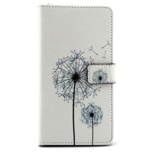 Dandelion Flip Stand Wallet Leather Shell for Huawei Ascend Mate7