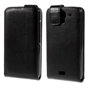Vertical Leather Magnetic Cover for Huawei Y360