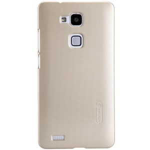 Nillkin Super Frosted Shield Plastic Back Case for HUAWEI Ascend Mate7 - Champagne