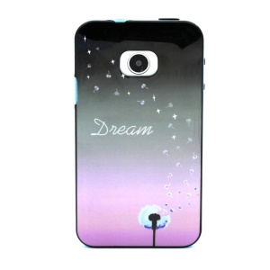 PC Frame + TPU Back Case for Huawei Ascend Y330 - Dream Word and Dandelion