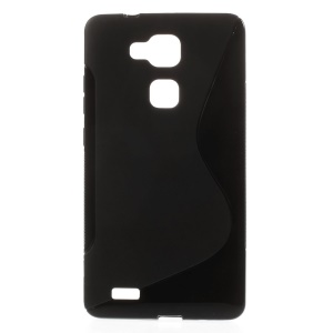 S-Line Soft TPU Cover for Huawei Ascend Mate7 - Black