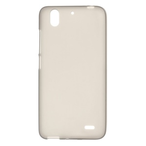 For Huawei Ascend G630 Double-sided Matte TPU Shell Case - Grey