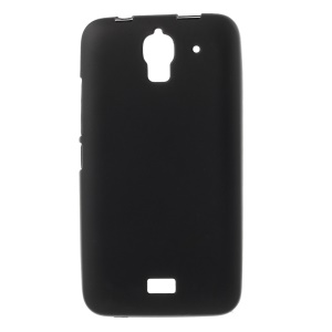 Matte Soft TPU Gel Case for Huawei Y360 - Black
