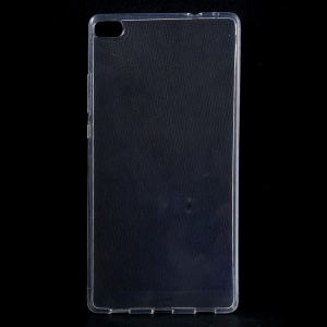 Ultra-thin 0.6mm Soft TPU Gel Skin Case for Huawei Ascend P8 - Transparent