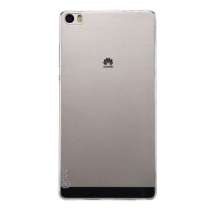 LENUO Lotto Series Slim TPU Phone Case for Huawei Ascend P8 Max - Transparent