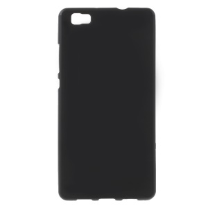 Matte TPU Phone Case for Huawei Ascend P8 Lite - Black