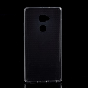 Ultra-thin Soft TPU Phone Cover for Huawei Mate S with Non-slip Inner - Transparent