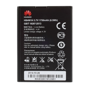 OEM HB4W1H 1750mAh Battery for Huawei C8813 U8951d T8951d Y210c G520