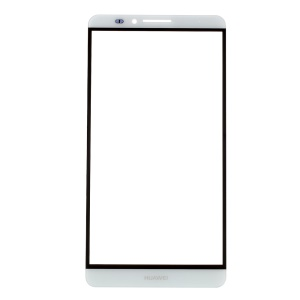 Front Outer Screen Glass Lens for Huawei Ascend Mate7 - White