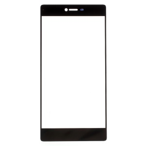 For Huawei Ascend P8 Front Outer Screen Glass Lens - Black