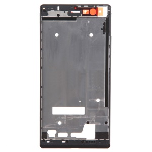 Middle Plate Frame Replacement for Huawei Ascend P7 - Black