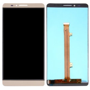 LCD Screen and Digitizer Assembly Replacement Part for Huawei Ascend Mate7 - Gold