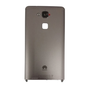 For Huawei Ascend Mate7 Rear Housing with NFC Antenna and Fingerprint Sensor Flex Cable - Grey