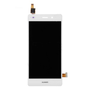 LCD Screen and Digitizer Assembly for Huawei Ascend P8 Lite - White