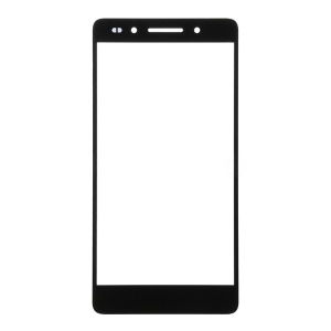 For Huawei Honor 7 Front Outer Screen Glass Lens - Black