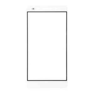 For Huawei Honor 7 Front Outer Screen Glass Lens - White