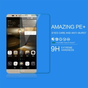 NILLKIN for Huawei Ascend Mate7 Amazing PE+ Anti-blue-ray Explosion-proof Tempered Glass Screen Guard Film