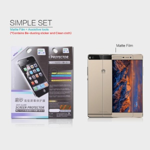 NILLKIN for Huawei Ascend P8 Anti-glare Scratch-resistant Screen Protector