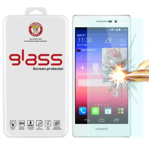 HAT PRINCE Tempered Glass Screen Protector Huawei Ascend P8 0.26mm 9H 2.5D Arc Edge