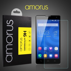 AMORUS for Huawei Honor 3C 9H Tempered Glass Screen Guard Protector