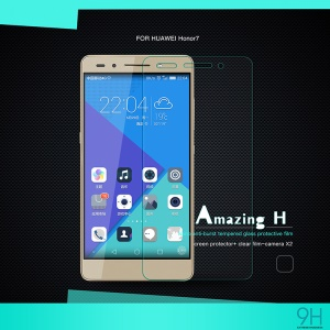 NILLKIN Tempered Glass Screen Protector for Huawei Honor 7 Amazing H Nanometer Anti-Explosion