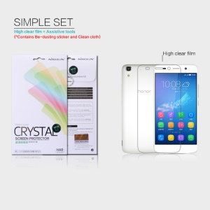 NILLKIN Anti-fingerprint Clear Screen Protector Film for Huawei Honor 4A