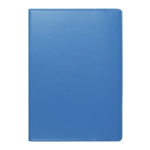 Litchi Texture PU Leather Cover for Lenovo TAB 2 A10-70 with Rotating Stand - Baby Blue
