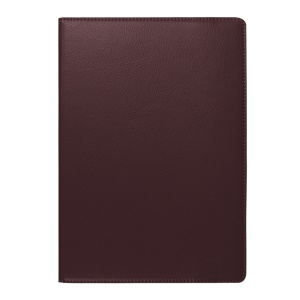 Litchi Texture Rotating Stand Leather Case for Lenovo TAB 2 A10-70 - Coffee
