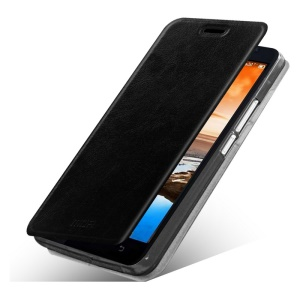 MOFI Rui Series Flip Stand Leather Case for Lenovo A916 - Black