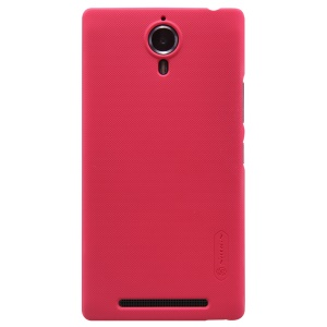 NILLKIN Super Frosted Shield Hard Shell for Lenovo K80 with Screen Protector - Rose