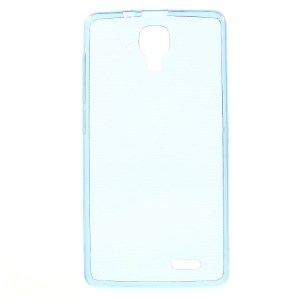 Ultra Slim 0.6mm TPU Cover Case for Lenovo A536 - Dark Blue