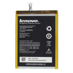 L12D1P31 3650mAh Battery Replacement for Lenovo A1000 A1010-T A3000 A5000