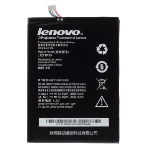 OEM L12T1P33 3650mAh Battery Replacement for Lenovo A1000 A1010-T A3000 A5000