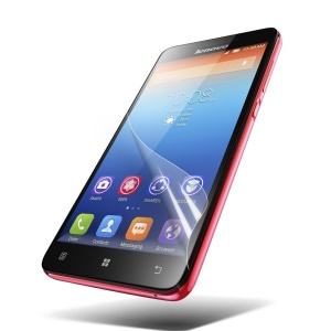 HD Clear LCD Screen Guard Film Protector for Lenovo S850