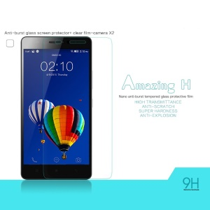 NILLKIN Tempered Glass Screen Film for Lenovo K3 Note K50-t5 / A7000 Amazing H Nanometer Anti-Explosion