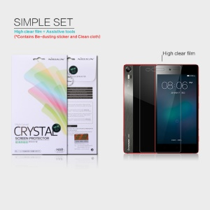 NILLKIN Anti-fingerprint Clear Screen Protector for Lenovo Vibe Shot Max