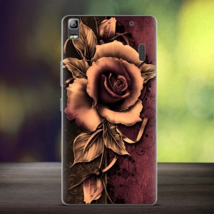 Softlyfit Embossed TPU Case for Lenovo A7000/A7000 Plus/K3 Note - Gothic Rose