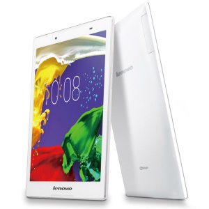 LENOVO TAB2 A8-50LC 8-inch 4G Phone Tablet MTK 8735 1.3GHz Quad-core Android 5.0 1G+16G with WiFi Bluetooth - White