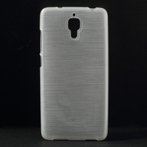Soft Brushed TPU Phone Cover for Xiaomi 4 MI4 - White