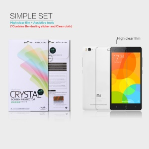 NILLKIN Anti-fingerprint Clear Screen Protector Film for Xiaomi Mi 4i 4c