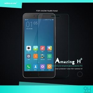 NILLKIN Tempered Glass Screen Protector Film for Xiaomi Redmi Note 2 Amazing H+ Nanometer Anti-Explosion