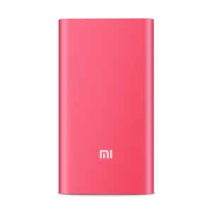 XIAOMI 5000mAh External Power Bank for iPhone iPad Samsung Sony Xiaomi - Rose