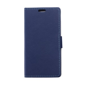 Magnetic Leather Wallet Case for Alcatel One Touch PIXI 3(3.5) 4009X 4009E - Blue