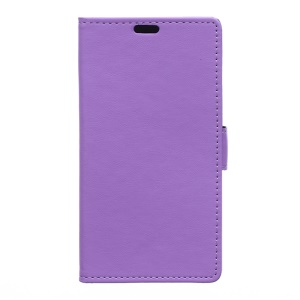 Protective Wallet Leather Case for Alcatel One Touch Pixi 3 4.0 4013E 4050X - Purple