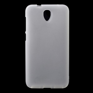 Transparent Matte TPU Cover Case for Alcatel One Touch Idol 2 6037B 6037Y / Dual SIM 6037K