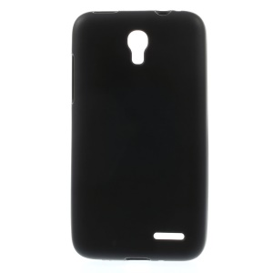 Black Matte TPU Back Cover for Alcatel One Touch Pop S3 OT-5050A OT-5050Y