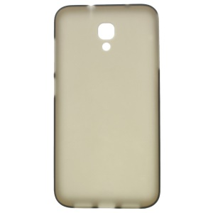 Frosted TPU Skin Cover for Alcatel One Touch Idol 2 S 6050Y 6050A 6050F - Grey