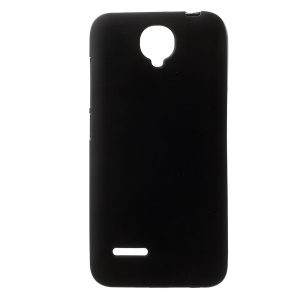 For Alcatel One Touch Idol 2 Mini L 6014D 6014X Double-sided Matte TPU Case - Black